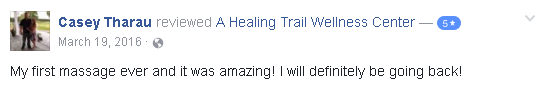 Review for A Healing Trail Wellness Center