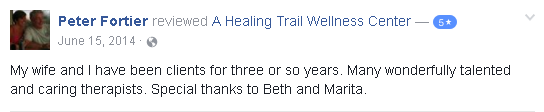 Reviews for A Healing Trail