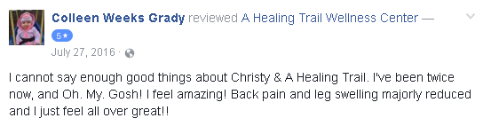 Reviews of A Healing Trail massage