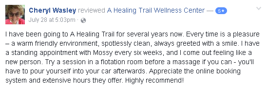 Reviews of A Healing Trail
